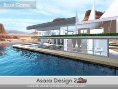 Asara Design 2 house by Autaki - Sims 3 Downloads CC Caboodle