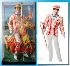 barbie mary poppins collection bert ken doll