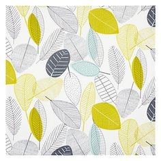 Buy John Lewis Scandi Leaves Napkins, Set of 4 Online at johnlewis.com