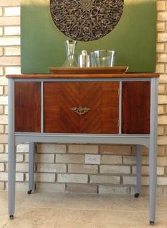 roadside rescue, painted furniture, painting wood furniture