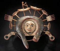 Yup'ik Mask Glenbow Museum