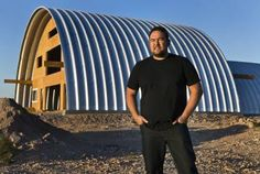 "Very cool article! One of our customers in Henderson, NV built an ""igloo-shaped"" house, also known as a Quonset Hut home"