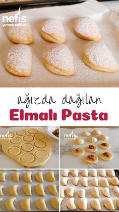 How to Make Apple Pie? Illustrated explanation of Elmalı Pasta in 686 book and photographs of those who try it are here. French Manicure Designs, Wie Macht Man, Sweet Cookies, Homemade Beauty Products, Beignets, Hamburger, Waffles, Deserts, Food And Drink