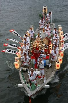 Tenjin Festival, Osaka, Japan 天神祭