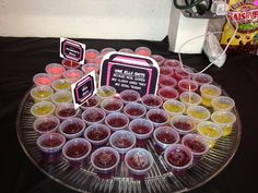 Dirty Thirty Jell A Nator Shots 30th Birthday Decorations Little Party