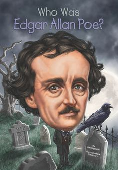 Who Was Edgar Allan Poe? by Jim Gigliotti,Tim Foley,Nancy Harrison, Click to Start Reading eBook, Filled with broken hearts and black ravens, Edgar Allan Poe's ghastly tales have delighted readers fo
