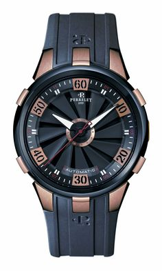 Turbine XL - The rose gold and DLC limited edition.