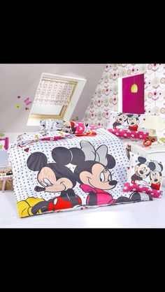 Micky & Minnie bedding sheets