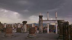 Pompei forum, Italy
