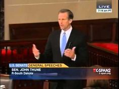 John Thune Slams Harry Reid, Obama Admin... MAR 27 2014