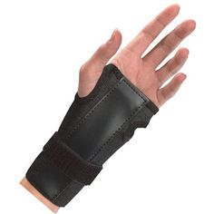 Are you suffering from Carpal Tunnel Syndrome? Use our doctor's recommended Mueller Black Wrist Brace. See more at http://www.zepcare.co.uk/mueller-black-adjustable-wrist-brace-with-splint