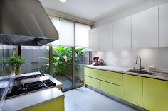 weiken funky colors kitchen