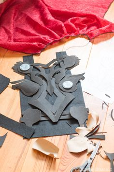 how to make Thor chest armor for costume out of craft foam