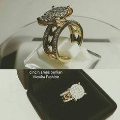 New Arrival. Cincin Emas Berlian Viewka Fashion. Toko Perhiasan Emas Berlian-Ammad +6282113309088/5C50359F Cp.Antrika. #investasi#beauty#fashion#elegant#musthave#tokoperhiasanemasberlian