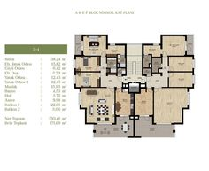 Architecture Plan, Residential Architecture, Flat Plan, Appartement Design, Internal Design, Apartment Plans, Construction Process, Home Design Plans, Modern House Design
