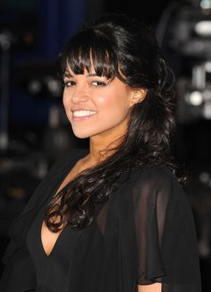 Michelle Rodriguez Halter Dress - Michelle Rodriguez looked hot at the 2013 Billboard Latin Music Awards in a tight-fitting black halter dress. Michelle Rodriguez, Beautiful Gorgeous, Beautiful People, Beautiful Women, Celebrity Travel, Celebrity Photos, The Hollywood Bowl, Star Wars, Celebs