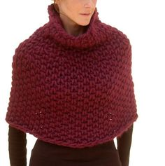 Instructions to make Magnum Capelet 4 knit PDF von karenclements
