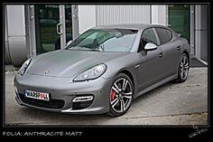 [Folia: Anthracite Matt] Folie samochodowe - Zmiana koloru auta | Warsfoll.com.pl