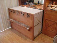 Kegerator drawer/chest freezer conversion keezer