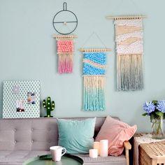 Hand Woven Macrame Wall Hanging