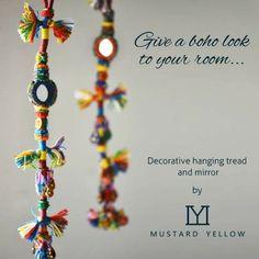 Lovely handmade tread hanging