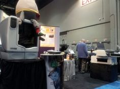 #uPrint SE 3D Printer by #Stratasys in our booth 1201 at #GOA2013.