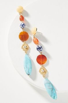 Discover new arrivals in women's accessories at Anthropologie. Shop new jewelry, bags, hats, scarves and more new arrivals. Rose Gold Jewelry, Resin Jewelry, Stone Jewelry, Bridal Jewelry, Jewelry Crafts, Handmade Jewelry, Jewelry Ideas, Chandelier Earrings, Women's Earrings