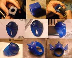Koopa Shell Ring WIP by Dans-Magic.deviantart.com on @DeviantArt