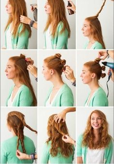 Hacks: 3 Foolproof Ways to Make Waves wavy hair tutorial Harmon Dunlop ❤ have you tried this one yet?wavy hair tutorial Harmon Dunlop ❤ have you tried this one yet? My Hairstyle, Pretty Hairstyles, Easy Hairstyles, Straight Hairstyles, Overnight Hairstyles, Heatless Hairstyles, Casual Hairstyles, Heat Free Hairstyles, Creative Hairstyles