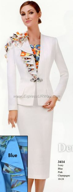 Serafina Womens Suits - www.ExpressURWay.com - Serafina, Serafina collections, Serafina Womens Suits, Church Suits, Couture Suits, ExpressURWay