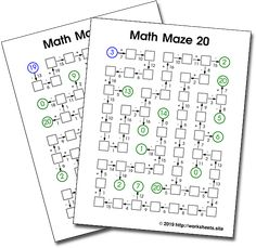 99 Best Free Worksheets, Games, Activities and Puzzles