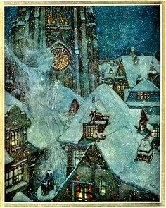 The Snow Queen by Hans Christian Anderson ~ Edmund Dulac.