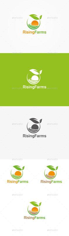 Rising Farm Logo