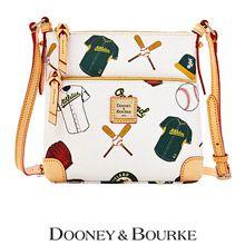 Oakland Athletics Letter Carrier Crossbody Bag by Dooney