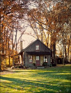 The little log house, revisited.