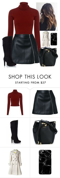 """""""Untitled #580"""" by jojomix ❤ liked on Polyvore featuring A.L.C., Guild Prime, Fratelli Karida, Michael Kors and Moschino"""