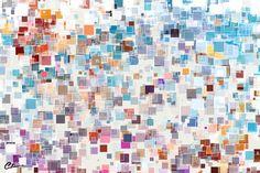 Generative art made with Adobe Flash. Generative Art, Cartography, Art Google, Art Reference, Photo Art, Fine Art, Cubes, Squares, Maps