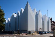 Philharmonic Hall Szczecin under construction, Szczecin, architects Barozzi /Veiga   Poland © Piotr Krajewski