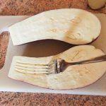 Aubergines gratinées au jambon et comté