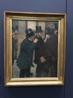 Edgar Degas, portrait
