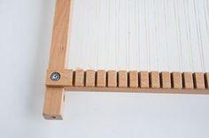 Warping a lap loom | The Weaving Loom
