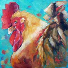 Artwork Pop-up - YOUNG ROOSTER by OLGA WAGNER
