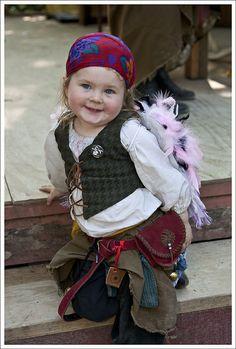 Little Gypsy ~ St. Louis Renaissance Faire ~ 2010