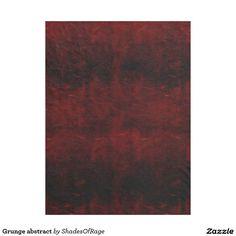 Fleece blanket. #grunge #gothic #abstract #zazzle #customize #customise