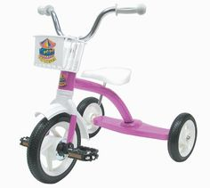 Sun Carousel Children's Tricycle in Pink by Sun. $39.97. TRICYCLE CAROUSEL 12in PINK