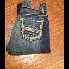 "BKE Culture boot cut denim. Size 26. BKE Culture boot cut denim. Size 26. Tag says 31.5"" inseam but have been hemmed to 27"" inseam. Like new! BKE Jeans Boot Cut"