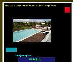 Rectangle Above Ground Swimming Pool Design Ideas 085657 - The Best Image Search