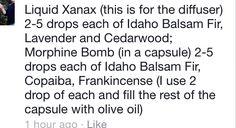 Liquid Xanax & Morphine Bomb