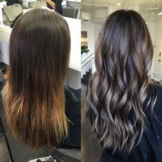 B e f o r e &  A f t e r . . . #btconeshot_color16 #btconeshot_hairpaint16 #btconeshot_ombre16 #btconeshot_transformation16 #btconeshot_haircolor16