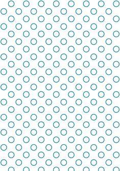 FREE printable bubble polka dot pattern paper ^^